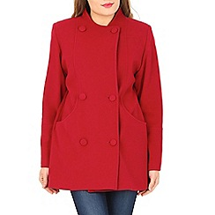 David Barry - Red cashmere & wool jacket