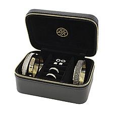 Dyrberg Kern - Black leather jewellery box