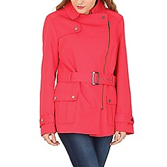 David Barry - Red trench rain jacket