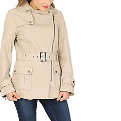 David Barry - Beige trench rain jacket