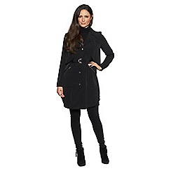 David Barry - Black trench rain coat