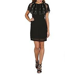 Voulez Vous - Black beads embellished dress