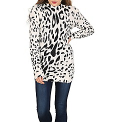 Voulez Vous - Multicoloured leopard print jumper