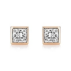 Buckley London - Rose central princess studs