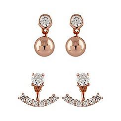 Buckley London - Rose interchangable earring set