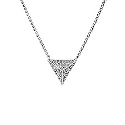 Buckley London - Silver hoxton pendant
