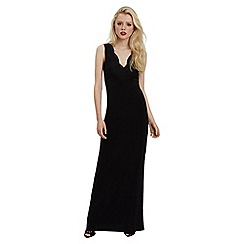 Jane Norman - Black black maxi lace top dress