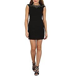 Voulez Vous - Black embellished dress