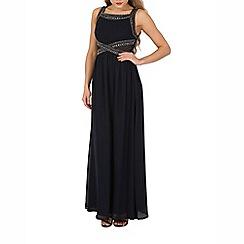 Izabel London - Navy embellished maxi dress