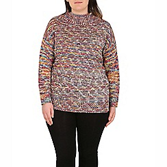 Samya - Red multi coloured pullover