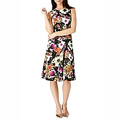 Sugarhill Boutique - Black anna floral print dress
