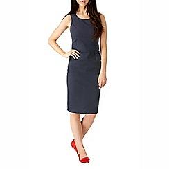 Sugarhill Boutique - Navy georgia dot shift dress