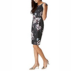 Sugarhill Boutique - Grey lori floral shift dress