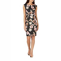 Sugarhill Boutique - Black lori digital floral shift