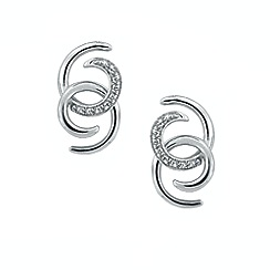 Amore Argento - Silver thrills & spills earrings