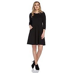 Roman Originals - Black loose fit pocket dress