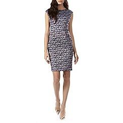 Sugarhill Boutique - Blue celia floral print shift dress