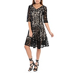 Alice & You - Black lace skater dress