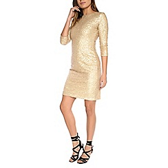 Alice & You - Gold sequin bodycon dress