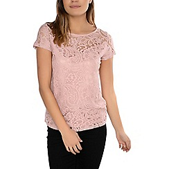 Alice & You - Pink lace t-shirt