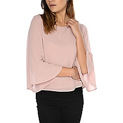 Alice & You - Pink cape sleeve top