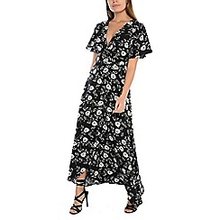 Alice & You - Black floral maxi dress