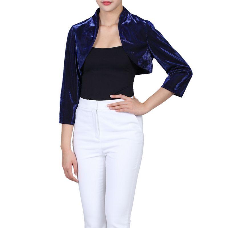 Jolie Moi Royal High Collar Bolero Jacket, Womens, Size: 16