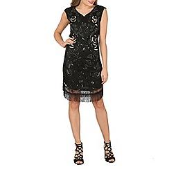 Solo - Black talia party dress