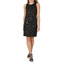 Solo - Black sparkle noir dress
