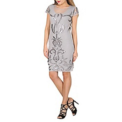 Solo - Grey pearla evening dress