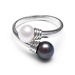 Kyoto Pearl - Silver freshwater pearl ring
