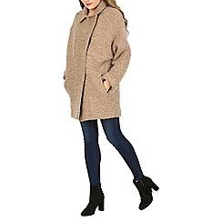David Barry - Beige cocoon coat