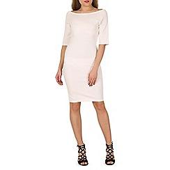Indulgence - Cream midi dress