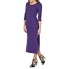 Indulgence - Plum lounge maxi dress