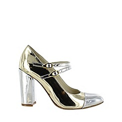 Marta Jonsson - Gold mary jane shoes