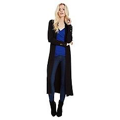 Jane Norman - Black maxi rib cardigan