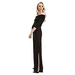 Jane Norman - Black split wide leg trouser