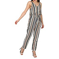 Mela - Multicoloured aztec stripe jumpsuit