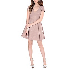 Alice & You - Light pink lace skater dress