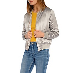 Alice & You - Light grey bomber jacket