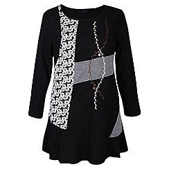 Samya - Black knitted dress