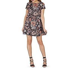 Izabel London - Multicoloured floral print shift dress