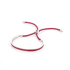 Fervor Montreal - Red enameled bracelet with Swarovski crystals
