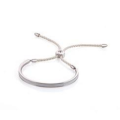 Fervor Montreal - Cream enameled bracelet with Swarovski crystals