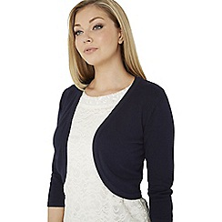 Roman Originals - Navy plain bolero