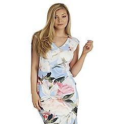 Roman Originals - Multicoloured floral scuba print dress