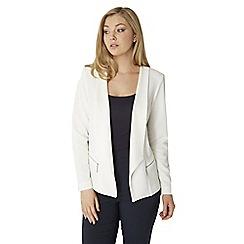 Roman Originals - Ivory zip jacket