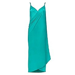 Seaspray - Light turquoise sarong dress