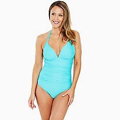 Seaspray - Aqua plunge halter swimsuit
