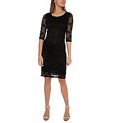 Alice & You - Black lace layer midi dress